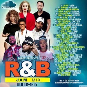 DJ ROY R&B JAM MIX VOL.6 [OCT 2016]