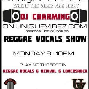 DJCHARMING. REGGAE VOCALS SHOW 15 august 16