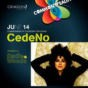 Commonwealth 14 June 2012 featuring Miss CedeNo