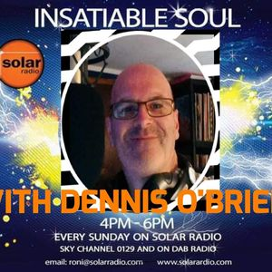 DENNIS O'BRIEN IN FOR RONI O'BRIEN ON INSATIABLE SOUL 19 MAY 2019
