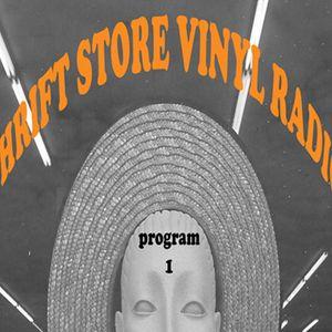 Thrift Store Vinyl Radio program 1