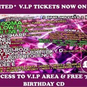 Morgan / MC Genius @ Resolution, Regents Nightclub, Barnsley 5-5-13