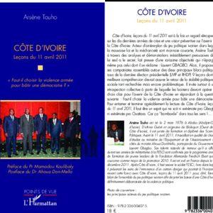MR TOUHO ARSENE AUTEUR DE COTE D'IVOIRE LECON DU 11 04 2011