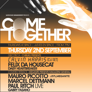 Mauro Picotto presents Meganite, Come Together @ Space Ibiza - part 1 - Gabry Fasano - 02.09.2010