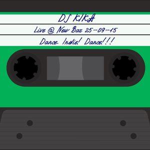 DjKika Live Episode @ New Bar 25-09-15 Dance. Indie! Dance!!! (08)