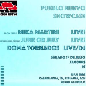 Doma Tornados LIVE. Pueblo Nuevo Showcase en Espai Erre. 2017