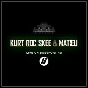 KurtRocSkee & Matieu Live on Bassport FM (08/18)