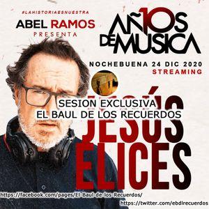Jesus Elices - 10 Años de Música con Abel Ramos 24/12/20 Streaming Sesión Cubierta de Leganés