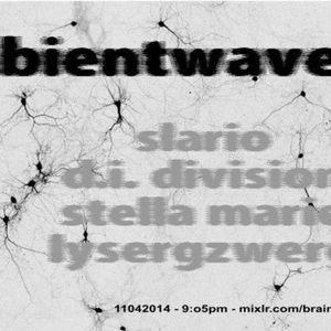 AMBIENT WAVE Podcast april 11 2014