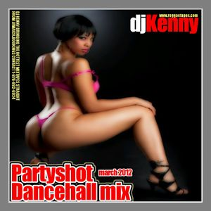 DJ KENNY PARTY SHOT DANCEHALL MIX MARCH 2012