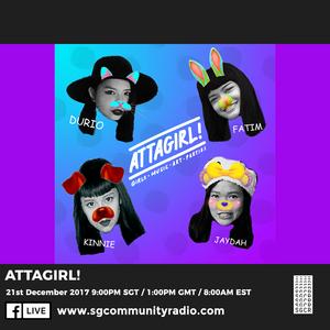 SGCR Radio Show #27 - 21.12.2017 Episode ft. ATTAGIRL!