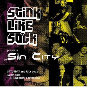STINK LIKE SOCK vs SIN CITY - Bannerworx Set
