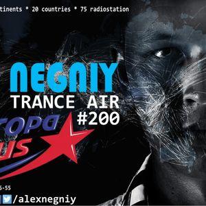 Alex NEGNIY - Trance Air #200 [ Guest mix on 3 Episode @ Europa plus ]