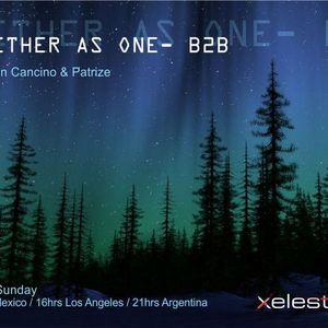 "PatriZe & Jonatan Cancino B2B - ""2gether as one"" on Xelestia Radio 18-03-2012"