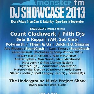 Soundclash DJ Showcase - Friday 13th September 2013