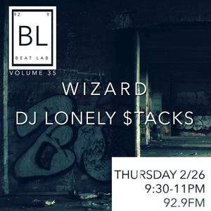 DJ Lonely $tacks Beat Lab Mix Part 1