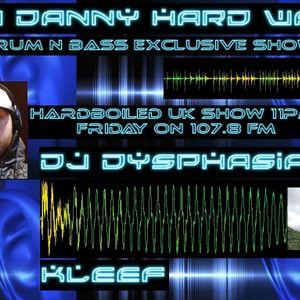 DJ HARDWAX AND DJ DYSPHASIA  IN THE MIX ON 107.8 FM