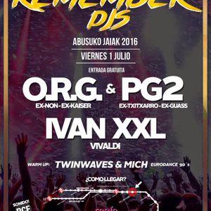 Twinwaves - Remember DJs @ Santa Isabel (01-07-2016)