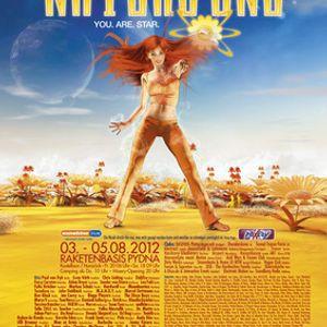 KLAUDIA GAWLAS @ NATURE ONE 2012 Century Circus (ATMO)