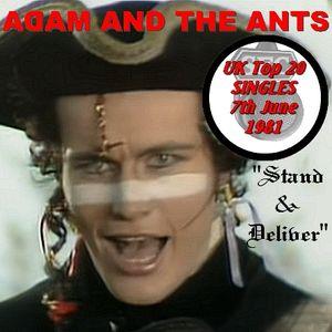 UK TOP 20 SINGLES for June 7th 1981