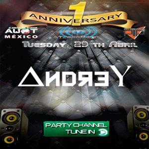 AndreY - 1st Aniversary @TempoRadio  29/04/2014