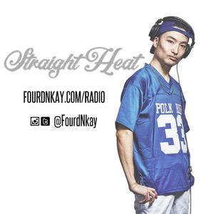 STRAIGHT HEAT RADIO - Octorber 2017 - DJ Fourd Nkay