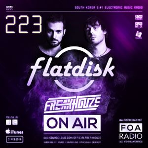 Freakhouze On Air 223 Mix by ● Flatdisc