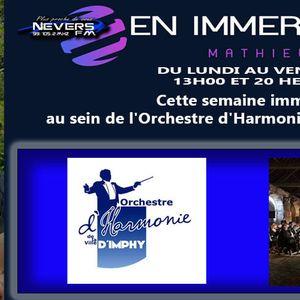 MATHIEU EN IMMERSION - ORCHESTRE D'HARMONIE DE LA VILLE D'IMPHY - REPORTAGE INTEGRAL