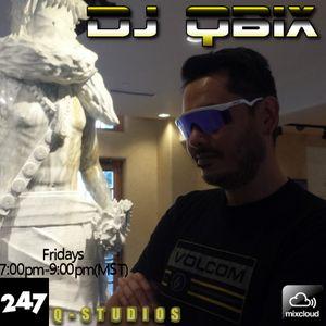 DJ QBIX LIVE@247HOUSE.FM DJK#288PT.2 TECHNO 12-9-2016