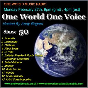 One World One Voice 50