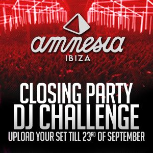 Amnesia Dj Closing Party Competition