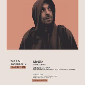 AleOle @ The Real Rocknrolla, Thessaloniki 14/04/2016