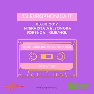 INTERVISTA A: ELEONORA FORENZA - GRUPPO GUE/NGL  AL P.E. 08.03.2017