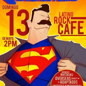 2012 05-13 06:05 13'p.m.  The Lawrence Arms @ Costa Rica (Latino Rock Café)