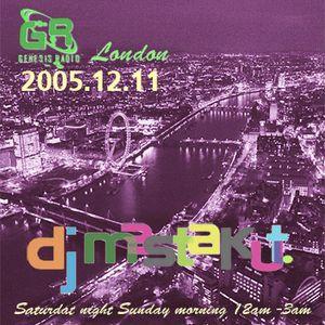 2005.12.11_  Lovers Soul / DJ Mastakut on Genesis Radio