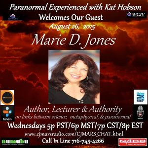 Paranormal Experienced with Kat Hobson 20150826