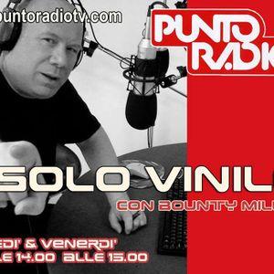 Bounty Miller Verrina con SOLO VINILE 32 su Punto Radio Bologna