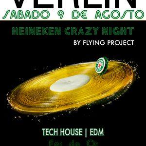 Dj B.Phoenix LIVE SET - Heineken Crazy Night @Sala Verlin (Discoteca Puerto Rico) 9.8.14 [Prto. Sag]
