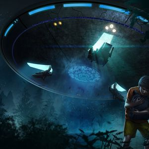 [8.18.2017] ALIEN INVASION ~ I.N.D.U.S.T.R.I.A.L. [www.darkstarradio.com] &[DARKSTARFIRE IN SL]