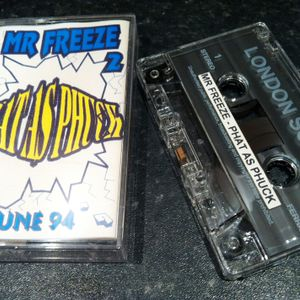 Mr Freeze - Phat as Phuck, Side B (1994) AKA London Soundz Mix II - Breakbeat / Prog / trance mix