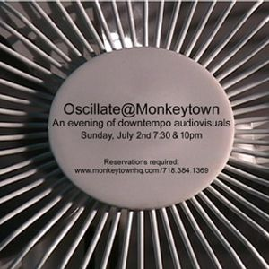Mad EP - live ambient set @ Oscillate 2006