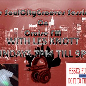 LAES KNOTT ON CRUISE FM WITH THE ESSEX FUNKERS JAZZFUNK&SOUL ERA