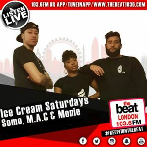 #IceCreamSaturdays: @DJSemo @Macnificent32 @Moniie_Talks 12.08.2017 7PM - 9PM [GMT]