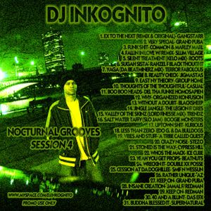 DJ INKOGNITO NOCTURNAL GROOVES 4