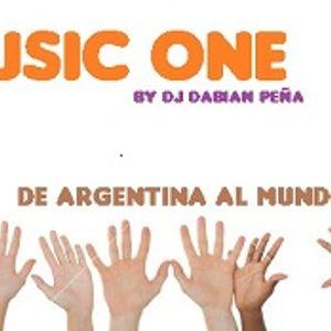 Dj Fabian Peña - Music One 2016 (ENERO)