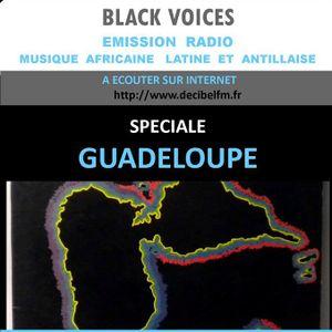 Emission radio de BLACK VOICES  spéciale Guadeloupe années 70-80 RADIO DECIBEL (10-2015)