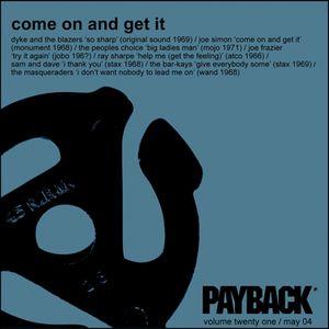PAYBACK Vol 21 May 2004