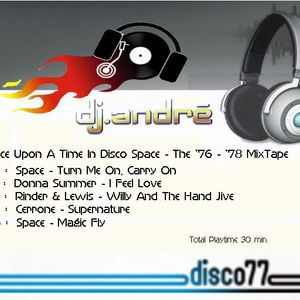 dj.andré - Once Upon A Time In Disco Space
