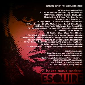 Esquire jan 2017 house music podcast by esquire music uk for House music podcast
