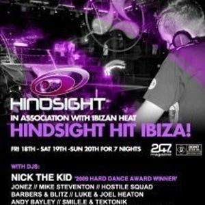 Hindsight Ibiza 2010 - Tek-tonic